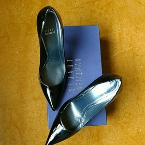 Stuart Weitzman Black Patent leather pump 8